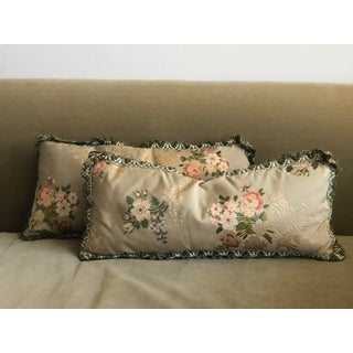 Vintage French Brocade Pillows - Set of 2 Preview