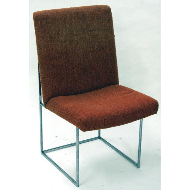1970s Milo Baughman Floating Dining Chairs - Set of 16 For Sale - Image 5 of 6