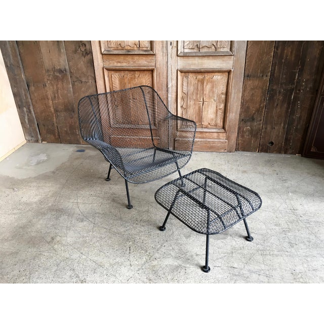 """Russell Woodard """"Sculptra"""" Lounge Chair and Ottoman For Sale In Los Angeles - Image 6 of 6"""