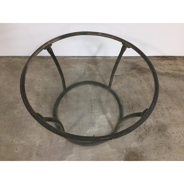 Mid-Century Modern 1960s Mid-Century Modern Kipp Stewart for Terra Furniture Bronze Age Tubular Side Table For Sale - Image 3 of 4