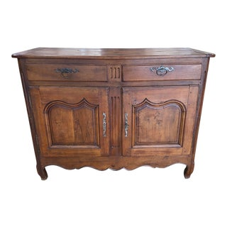 Early 19th. C. French Provincial Louis XV Buffet For Sale