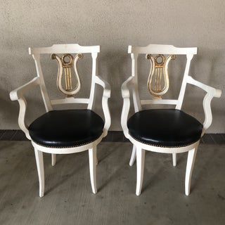 1980s Hollywood Regency Armchairs - a Pair Preview