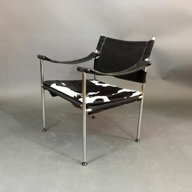"""Irafas"" Safari Chair, Sigurd Ressell and Cato Mansrud, Norway, 1965 For Sale - Image 12 of 12"