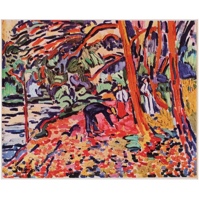 1948 Maurice De Vlaminck, Landscape With Dead Wood Original Period Lithograph For Sale In Dallas - Image 6 of 8