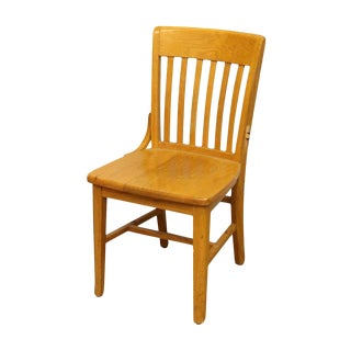 Single Wooden Chair by Jasper Seating Company For Sale