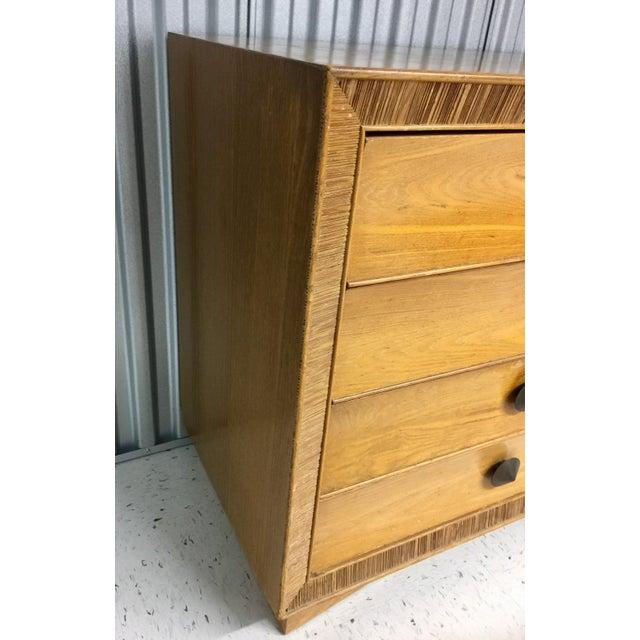 Paul Frankl for Brown Saltman Dresser & Mirror For Sale - Image 10 of 13