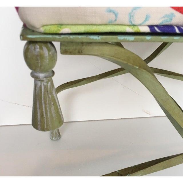 Antique Italian Chinoiserie Tassel Stool - Image 4 of 6
