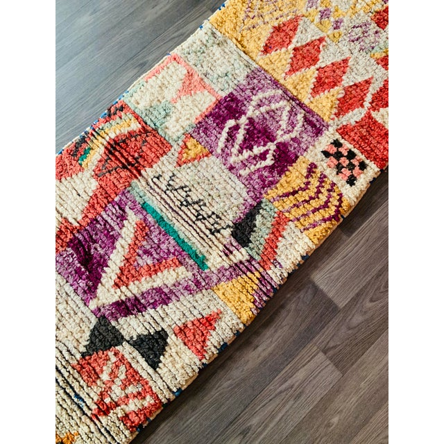 1950s Moroccan Vintage Runner-2′6″ × 11′ For Sale - Image 12 of 13