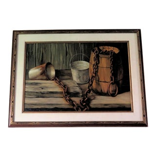 Andrew Wyeth Style Painting by Artist K. Guzevich For Sale