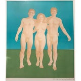 Image of Nudes by Wynn Chamberlain 1965 For Sale