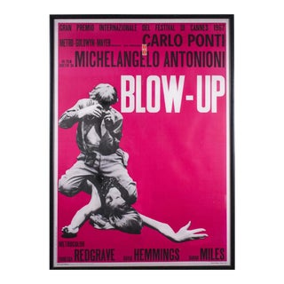 "Last Call Michelangelo Antonioni's ""Blow-Up"" Movie Poster"