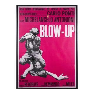 "Last Call Michelangelo Antonioni's ""Blow-Up"" Movie Poster"
