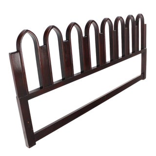 Harvey Probber Cultured King-Size Headboard For Sale