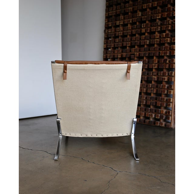 Preben Fabricius and Jørgen Kastholm for Alfred Kill Grasshopper Chaise For Sale - Image 12 of 13