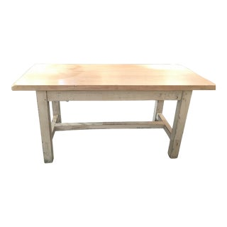 1920s French Farmhouse Table For Sale
