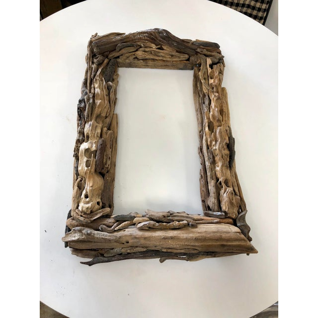 Handcrafted Reclaimed Botany Bay Driftwood Frame For Sale In Charleston - Image 6 of 6
