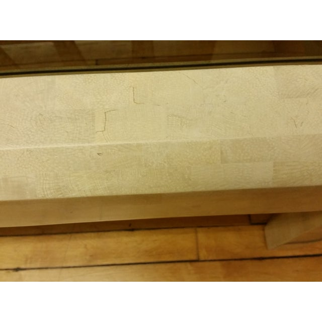 Gold Maitland-Smith Tessellated Stone Coffee Table For Sale - Image 8 of 10