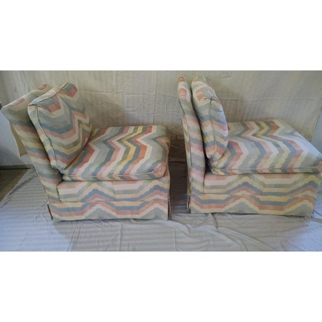 Hickory Slipper Chairs - A Pair - Image 3 of 5