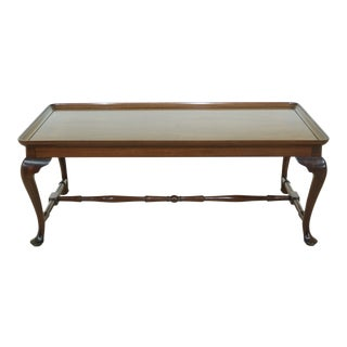 Kittinger Colonial Williamsburg Queen Anne Mahogany Coffee Table For Sale