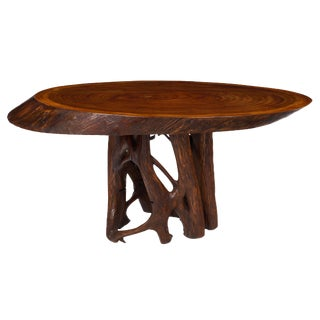 Brazilian Jacaranda Wood Table For Sale