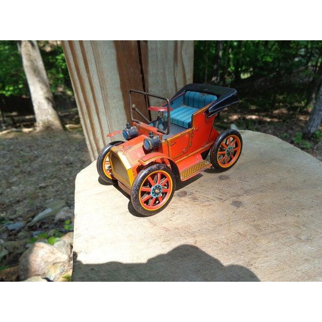 Vintage Model A Friction Car For Sale - Image 4 of 9