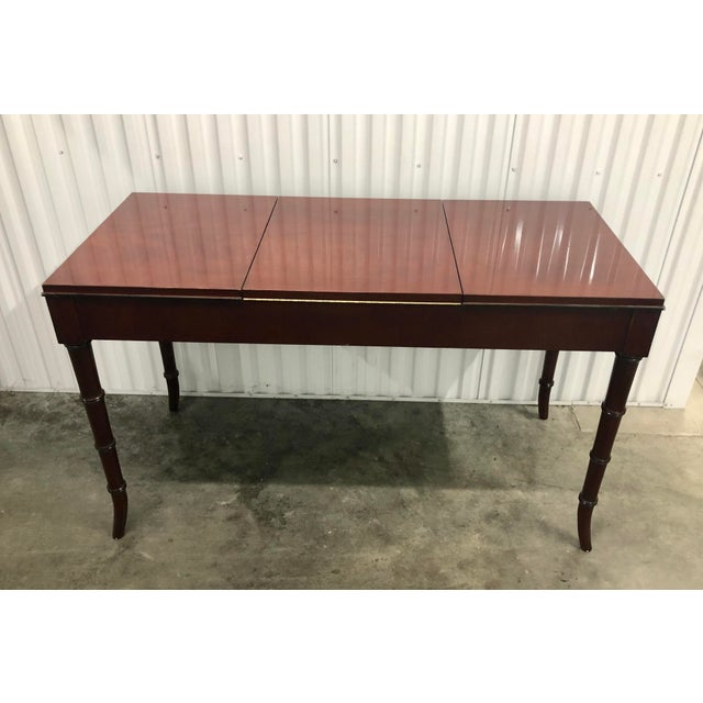 Dorothy Draper Kindel Furniture Chinoiserie Dressing Table For Sale - Image 12 of 13