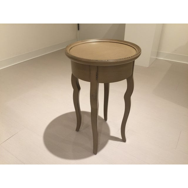 Baker Furniture Milling Road Coffee Table: Baker Milling Road Louis XIV Chairside Table