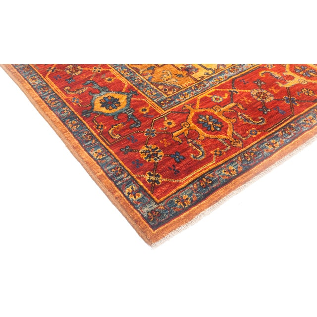 """Serapi Hand Knotted Area Rug - 6' 9"""" X 10' 2"""" - Image 2 of 4"""