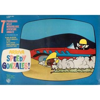 Arriva Speedy Gonzales! 1964 Italian Fotobusta Film Poster For Sale