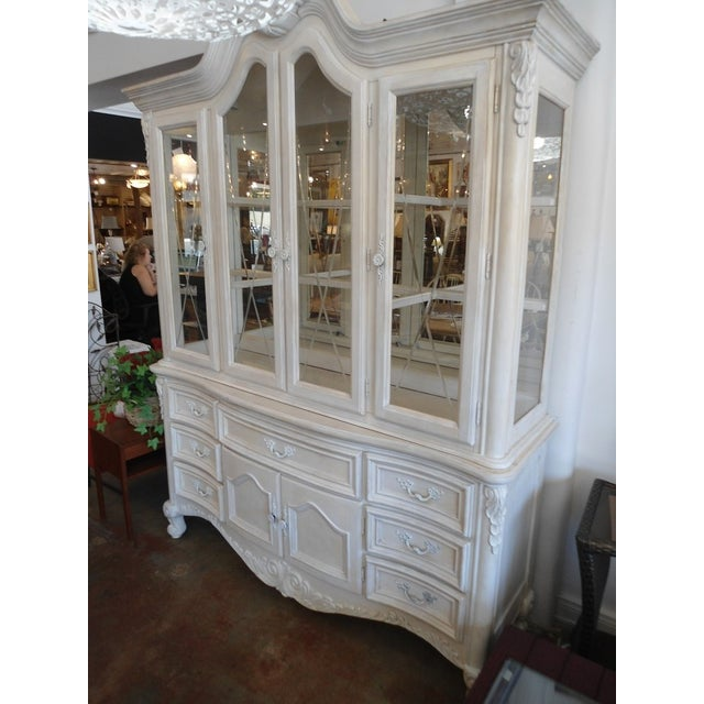 White China Hutch by Fairmont Designs - Image 9 of 10
