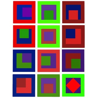 Series 1.0 Abstract Paintings - Set of 12 For Sale