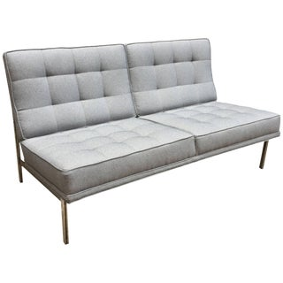 Florence Knoll Parallel Bar System Settee For Sale
