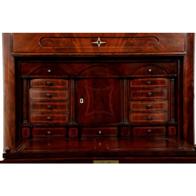 19th Century American Mahogany Secrétaire à Abattant - Image 4 of 10