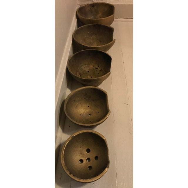 1930s Blown Glass Cooling Trays - Set of 5 For Sale - Image 5 of 6