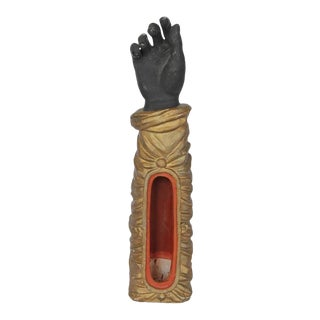 1800s French Terra Cotta Hand Figurine For Sale