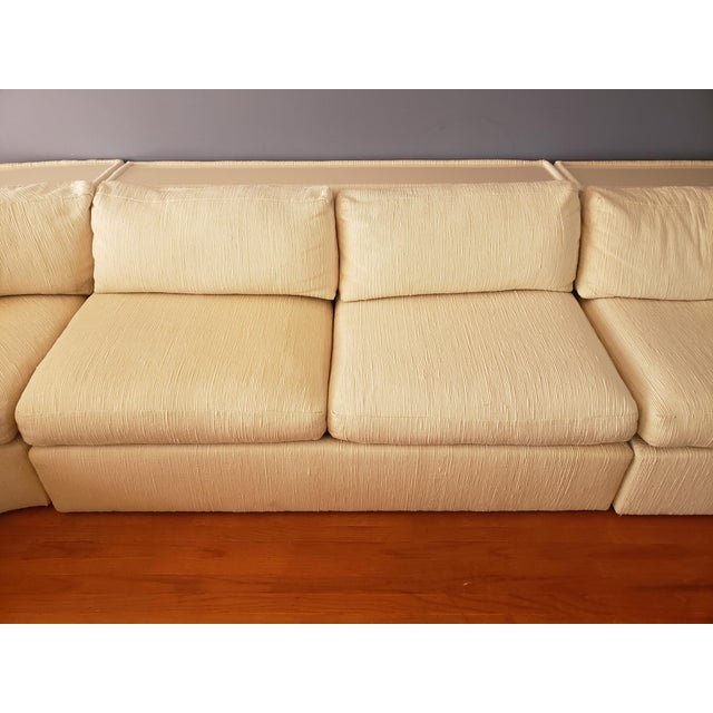1980s Milo Baughman for Thayer Coggin Sectional Sofa For Sale - Image 5 of 13