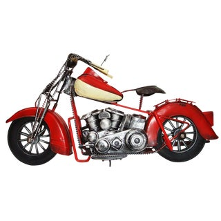 Motorcycle Replica W/ Moving Parts