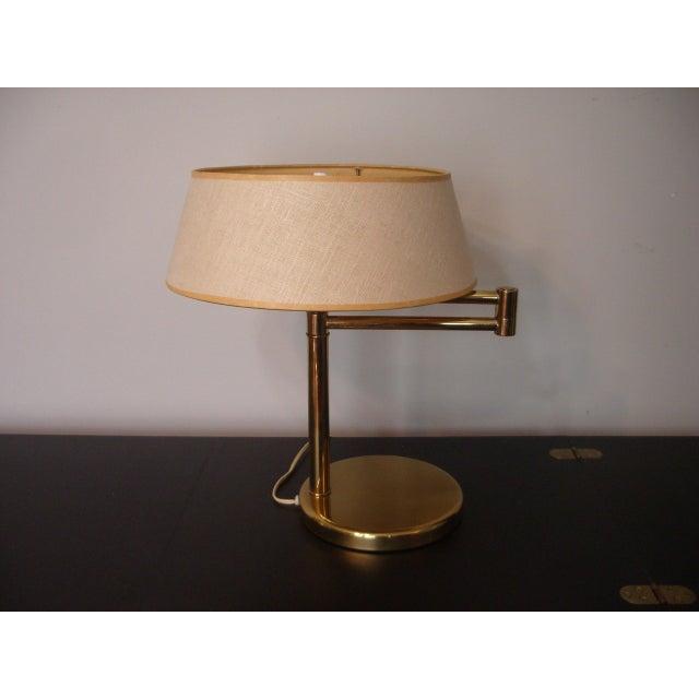 1960s Mid Century Modern Walter Von Nessen for Nessen Lighting Swing Arm Desk Lamp For Sale - Image 12 of 12