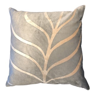 Room & Board Leaf Pillow For Sale