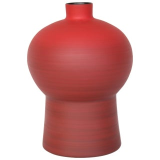 Rina Menardi Handmade Ceramic Royal Queen Vase For Sale