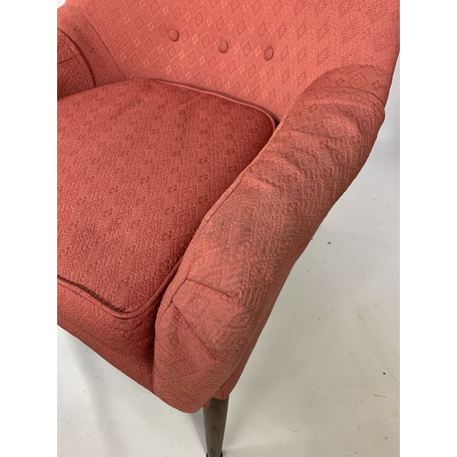 Lawrence Peabody Mid-Century Lawrence Peabody - Craft Assoc. Lounge Chair For Sale - Image 4 of 10