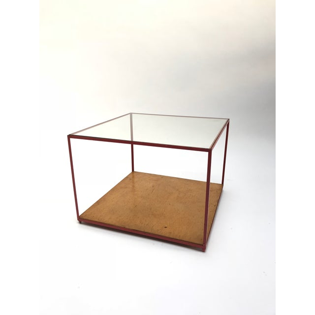 Dunbar Steel Frame Cocktail Table For Sale - Image 11 of 11