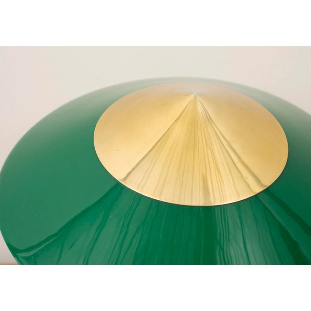 Elegant Table Lamp by Stilux Milano in Brass, Marble and Perspex. Italy, 1950s. For Sale - Image 9 of 12