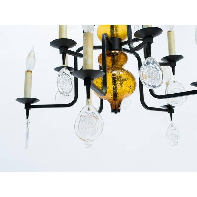 Designed for Boda Nova glassworks / Axel Stromberg ironworks.