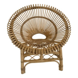 Boho Inspired Wicker Chairs For Sale