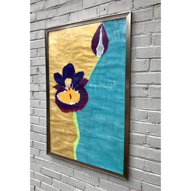Framed Kid Art Painting For Sale - Image 4 of 12