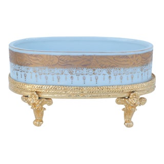 Ormolu Footed Soap Dish For Sale