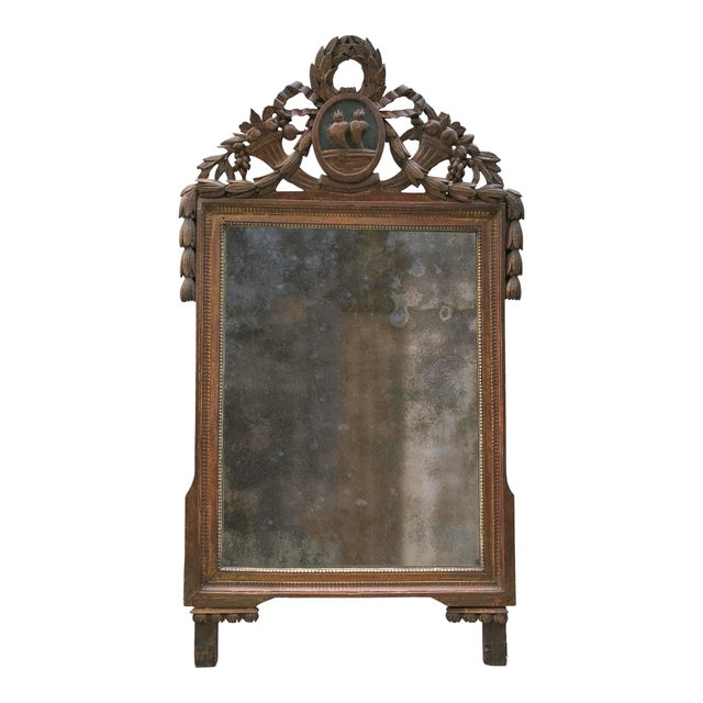 Louis XVI Mirror, 18th Century For Sale - Image 6 of 8