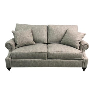 Century Furniture Leatherstone Small Apartment Sofa For Sale