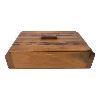 Art Deco Wood Box